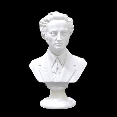 Chopin Composer Bust /statue /figurine - 22Cm Crushed Marble