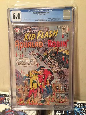 Brave and the Bold (1955 1st Series DC) #54 CGC 6.0 - 1st app Teen Titans