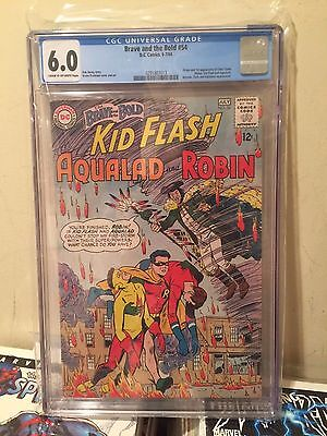 Brave and the Bold #54 - 1st appearance of Teen Titans - CGC 6.0