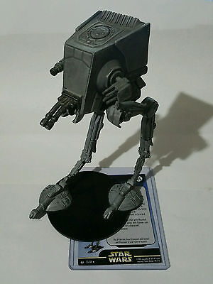 RARE Star Wars Miniatures AT-ST 33/60 Universe - FREE SHIPPING!! IMPERIAL