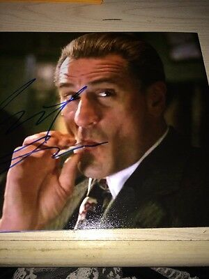 Robert De Niro SIGNED 8X10 PHOTO  AUTOGRAPH Casino