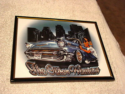 CAR THE OTHER WOMAN 8X10 FRAMED PICTURE ( poster )