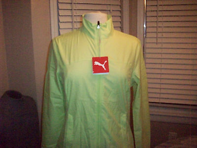 Womens Puma golf wind cell tech wind jacket Sz S NEW WITH TAGS NWT