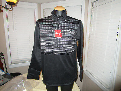 Mens Puma Golf warm cell Uncamo 1/4 zip popover pullover Sz M  NEW WITH TAGS 3