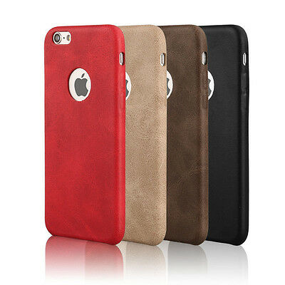 Luxury Ultra Slim Thin PU Leather Case Cover for Apple iPhone 7 6 6S Plus