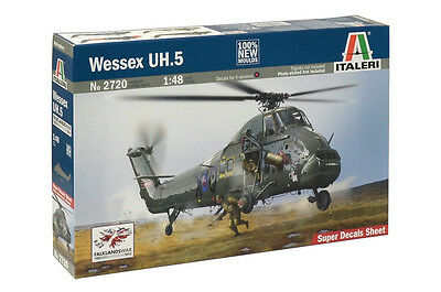 Italeri 1:48 Wessex UH.5 Helicopter #2720 Plastic Model Kit