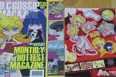Panty and Stocking Booklet & Seal Sticker