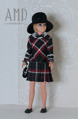 OOAK fashion/outfit for Vintage Skipper by Anicetta
