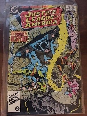 JUSTICE LEAGUE OF AMERICA #253 (Aug 1986) VF Condition