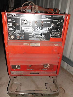 Lincoln Idealarc 250 AC/DC TIG and Stick Welder