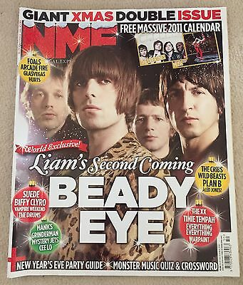 NME Magazine Beady Eye Liam Gallagher Oasis Pretty Green Christmas Manchester