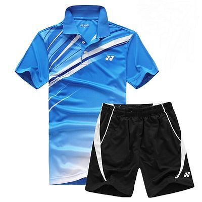 YONEX Badminton Shirt & Shorts - Superb Sportswear Top Sports Clothing -UK Stock