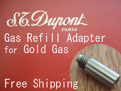 Gas Refill Adapter for Dupont Lighter Gold/Free Shipping