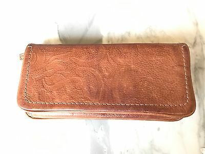 Fossil Brown Leather Ladies Wallet, Pre-owned