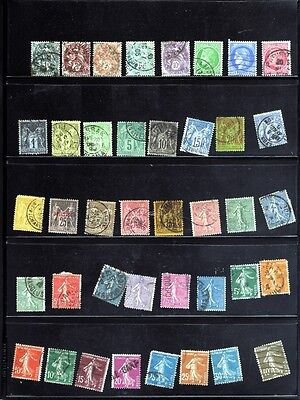 Used  France Old Stamps