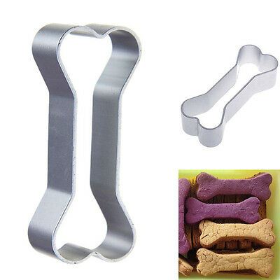 Stainless steel Dog Bone Shape Gingerbread Dough Biscuit Cake Cookie Cutter Tool