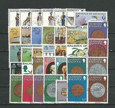 Guernsey, 35 Various, Used