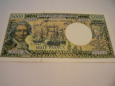 Banknote French-Pacific  5000 Francs