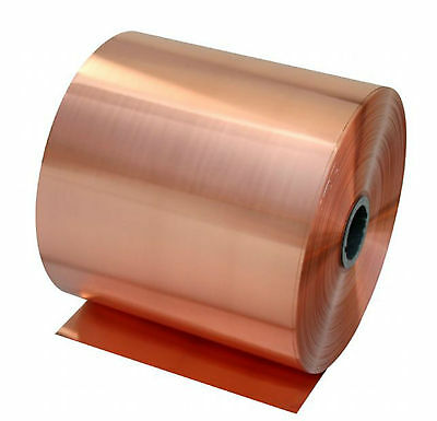 1pcs 99.9% Pure Copper Cu Metal Sheet Foil 0.1 x 200 x 1000 mm #E3011000
