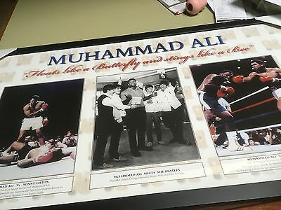 Muhammad Ali Limited with The Beatles Edition Print