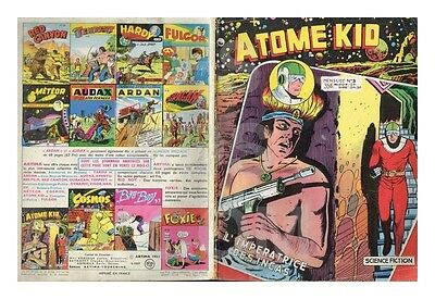Atome Kid - Artima -  N°  3  12/1956  Be