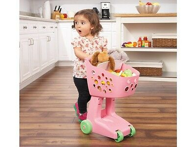 Little Tikes Lil' Shopper Trolley - Pink, Role Play Toys, Shopping Toys