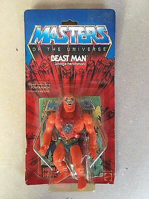 Masters Of The Universe - Beast Man - Motu 1982 New!!!