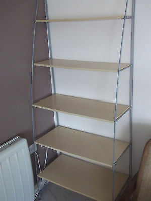 Air Bookshelves  For Office - Collection Only - shelf placed against the wall