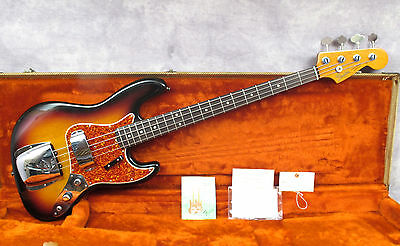 1982 Fender Jazz - Fullerton Factory '62 Reissue - Andy Baxter Bass