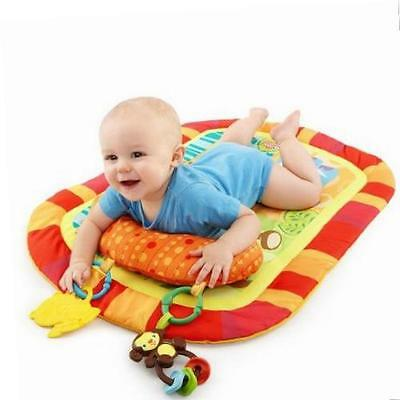 Bright Starts Safari Adventures Prop and Play Tummy Time Mat