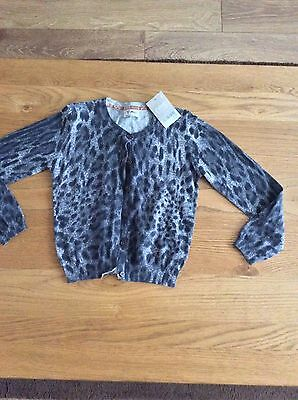 Next Girls Cardigan Age 5 To 6 Years BNWT rrp: £18.00