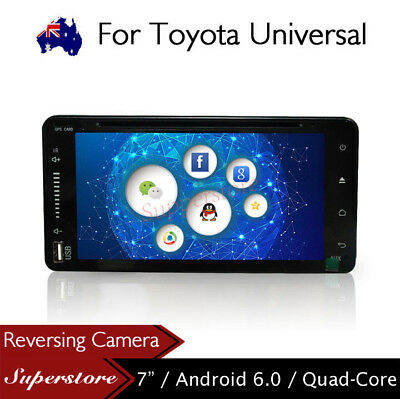 "7"" Android Quad Core Nav Car DVD GPS Stereo Player For Toyota Universal Model"