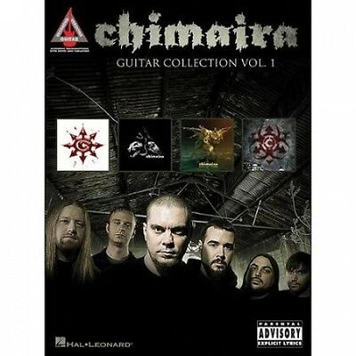 Hal Leonard Chimaira Guitar Collection Volume 1 Guitar Tab Songbook. Free Shippi