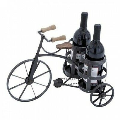 EC World Imports Urban 2 Bottle Tabletop Wine Rack. Delivery is Free