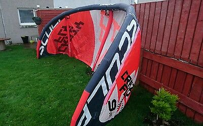 Crazyfly Skulp 9m  Kte,  Board and Harness