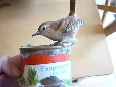 The Chancery Collection - Wren On An Evaporated Milk Tin - No Box
