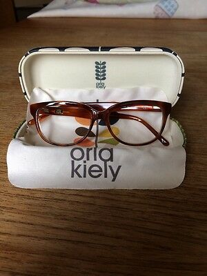 Orla Kiely Glasses Frames With Case Classic Retro Design