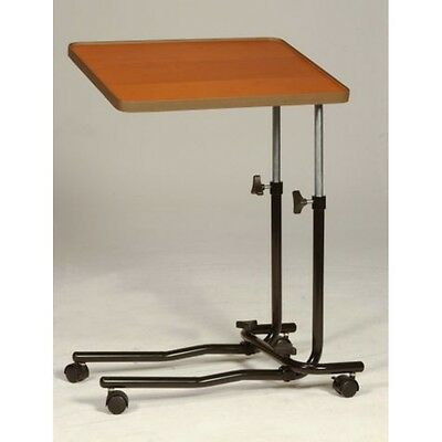 Rolling over Bed or Chair Table with 4 castors mobility disability aid