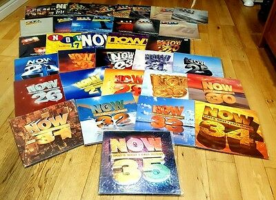 Now That's What I Call Music Vol 1 to 35 Complete Collection on Vinyl 1983-1996