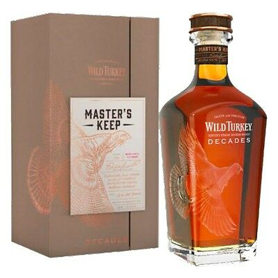 Wild Turkey Master's Keep Decades Bourbon 750ml LIMITED EDITION - GIFT BOXED