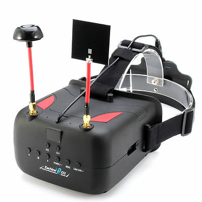 Eachine VR D2 5 Inches 800*480 40CH Raceband 5.8G Diversity FPV Goggles with DVR