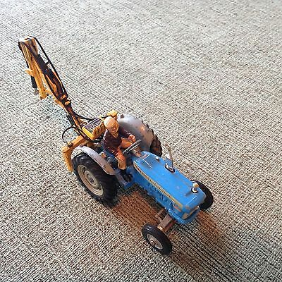 Corgi vintage Ford Tractor/Digger with Driver