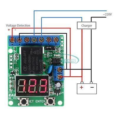 Multi-function Voltage control Relay Timer Delay Switch Voltage Protection 12V