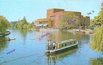 Canal Narrowboat Vintage River Avon,Stratford Upon Avon,What A Great Scene,Not P