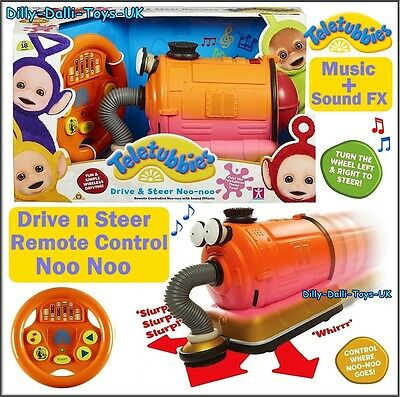 NEW Teletubbies LARGE Remote Control NOO NOO Drive n Steer RC Sounds + Movement