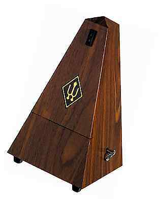 Wittner Walnut Finish Plastic Case with bell Metronome