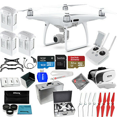 DJI Phantom 4 Pro Quadcopter! NEW MODEL! 3 BATTERY EVERYTHING YOU NEED MEGA KIT