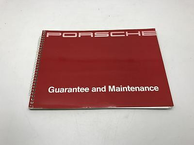 Genuine Porsche 968 Guarantee & Maintenance Service Book Manual WKD 900 020 91