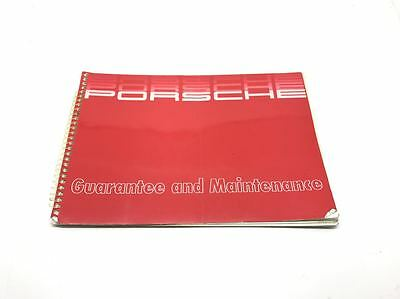 Genuine Porsche 944 Guarantee & Maintenance Service Book Manual WKD 900 020 89