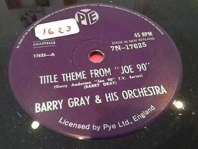 Barry Gray & His Orchestra Title Theme From Joe 90 Super Rare NZ 7N17625 1968 NM